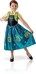 Rubies - Disfraz Anna de Frozen para niñas, talla M (I-610903M)