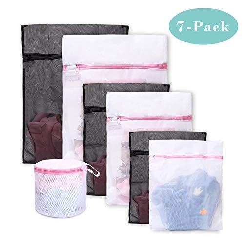 Bolsas para la colada ,Set de 7 Malla Bolsas de Lavandería /bolsas de lavadora Para...