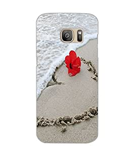 SAMSUNG GALAXY S7 SAND Back Cover by PRINTSWAG