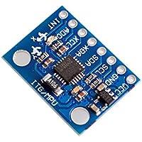CAOLATOR Módulo GY-521 MPU-6050 DIY 3 Ejes Giroscopio Sensor de Aceleración para Arduino