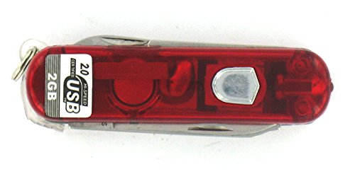 Cuchillo multiusos llave USB