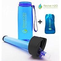 Bottiglia d'Acqua Multiuso con Filtro Revive H2O