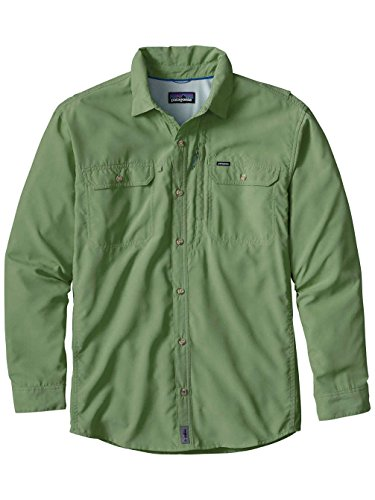 Patagonia Sol Patrol II Longsleeve Shirt Men - Outdoorhemd transit green