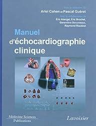 Manuel d'échocardiographie clinique (1DVD)