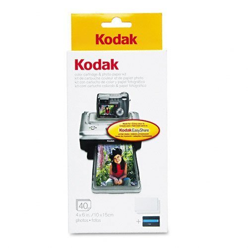kodak-ph-40-easyshare-printer-dock-color-cartridge-photo-paper-refill-kit-by-kodak