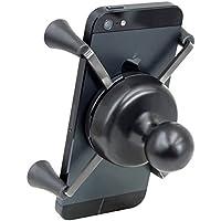 RAM Mount Ram-Hol-UN10BU - Soporte negro pasivo de acero inoxidable, soporte para comunicación personal