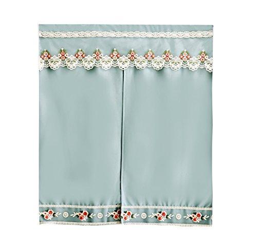 Hirtenstickerei Vorhänge Stoff Küche Schlafzimmer Badezimmer Vorhänge Mondschein Blumenschatten