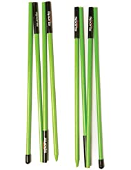 Softspikes paas301g Sticks Alignment Golf, Lime Green by Soft Spikes