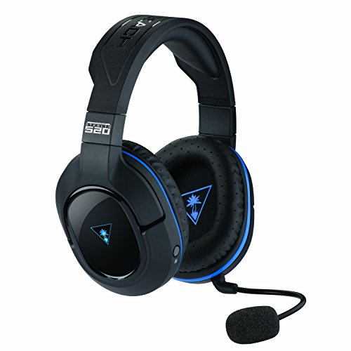 Foto Turtle Beach Stealth 520 Cuffie di Gioco Wireless con Suono Surround DTS 7.1 - PS4 Pro/PS4/PS3