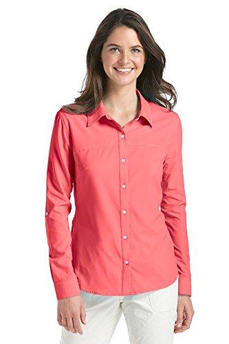 Coolibar Damen Sport Shirt UPF 50 Plus Canyon