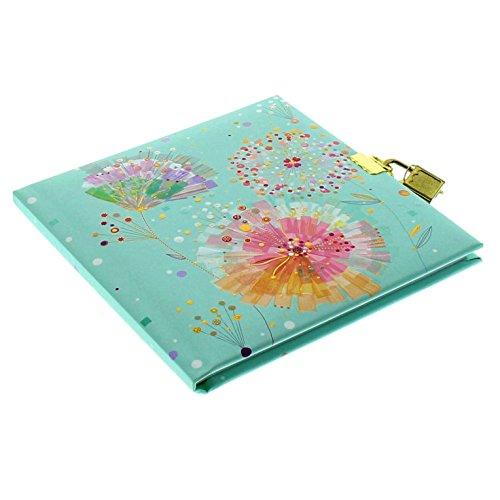 Goldbuch, diario, candado con 2llaves, 16,5x 16,5cm, 96páginas blancas,...
