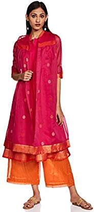 W for Woman Women's Straight Salwar Suit