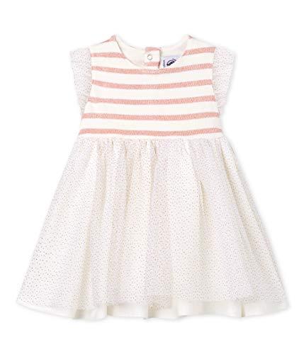 �dchen Robe SM_4727403 Kleid, Mehrfarbig (Marshmallow/Joli Brilliant 03), 68 (Herstellergröße: 6M/67cm) ()