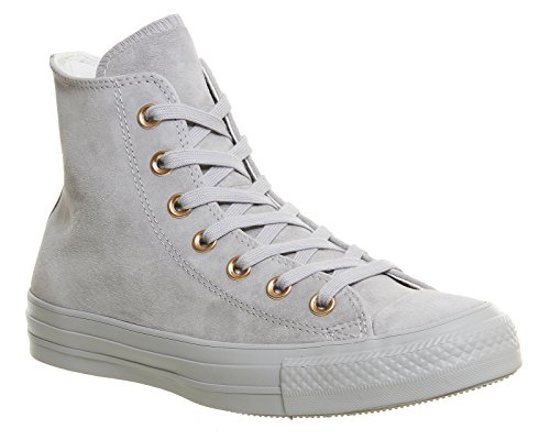 Converse Leather All Star, Unisex - Erwachsene Sneaker Ash Grey Rose Gold Exclusive