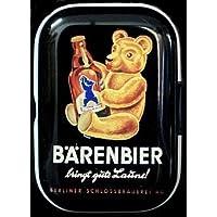 Tesoro Mix – Lata (pequeño oso cerveza Mint lata pastillero Pastillero Menta Box – Caja