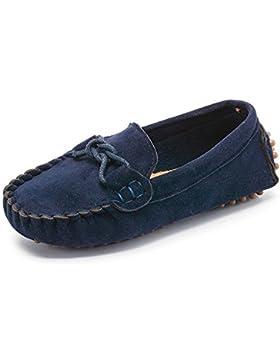 [Patrocinado]Sunny&Baby Mocasines al Aire Libre para Niños de Little Kid'S Causal Zapatos para Niños Pequeños Resistente a...