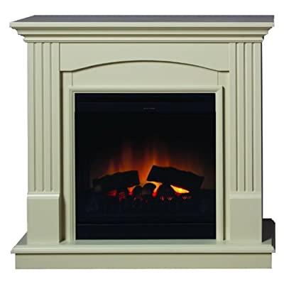 Dimplex Chadwick Optiflame Freestanding Fireplace Suite and Electric Fire
