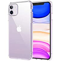 Syncwire UltraRock iPhone 11 Case, Full Clear iPhone 11 Protective Cover with Advanced Drop Protection and Air Cushion Safeguard Technology for Apple iPhone 11/XI 6.1-Inch (2019) - Crystal Clear