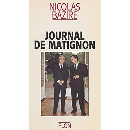 Journal de Matignon (Non Fiction)