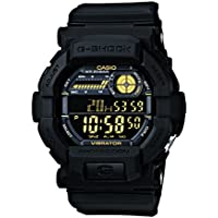 Casio G-Shock Digital Black Dial Men's Watch - GD-350-1BDR (G441)