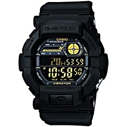 Casio G-Shock Digital Black Dial Men's Watch - GD-350-1BDR (G441)