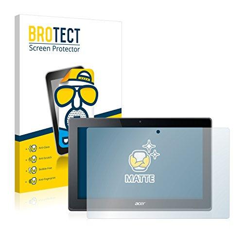 BROTECT Entspiegelungs-Schutzfolie kompatibel mit Acer Aspire Switch 11 V (2 Stück) - Anti-Reflex, Matt