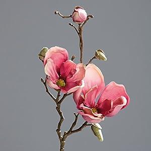 Magnolien-zweig pink 50cm