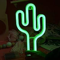 Luz de neón del Colgante de Pared de la luz de la Noche de la Forma LED del Cactus Lindo Precioso para el Festival
