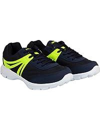 Sparx Men's Running Shoe NAVY BLUE FL GREEN