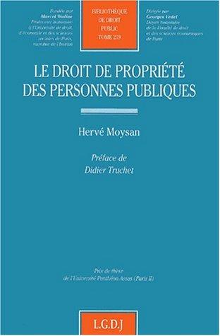 Droit de la propriété des personnes publiques