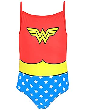 DC Comics Wonder Woman - Bañador para niña - Wonder Woman