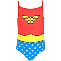 DC Comics Wonder Woman - Costume da bagno Ragazza - Wonder Woman
