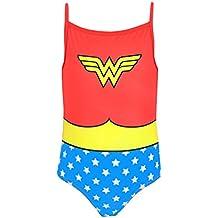 DC Comics Wonder Woman - Bañador para niña - Wonder Woman
