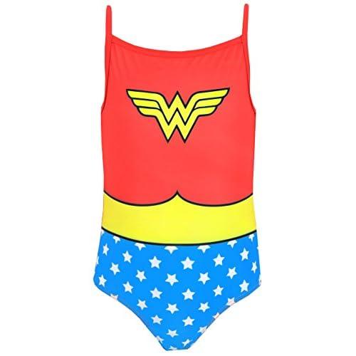 Wonder Woman DC Comics Bañador para niña 11