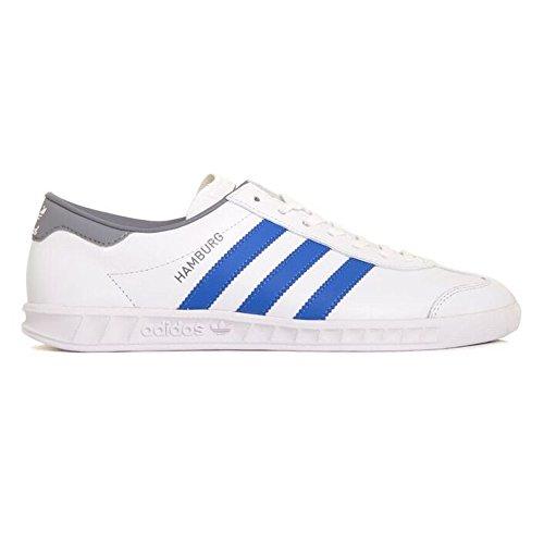 Adidas Tênis Homens Hamburgo Ftwwht / Azul / Cinza