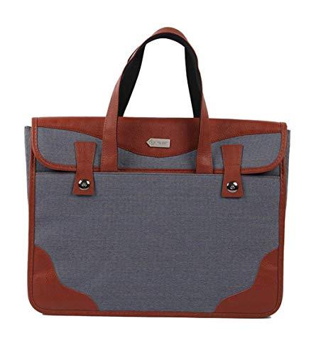Classic Nylon Handytasche Mode Retro Aktentasche Männer Groß Crossbody Taschen Herren Einfarbig Messenger Bag (Color : Schwarz, Size : -) -