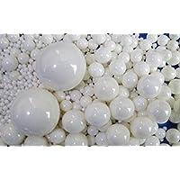 1kg/lot 6mm bolas de molienda media de cerámica ZrO2Circonita Bolas Bolas Para planetario Agitating molinillo de pimienta molinillo de rodillo lija molinillo máquina