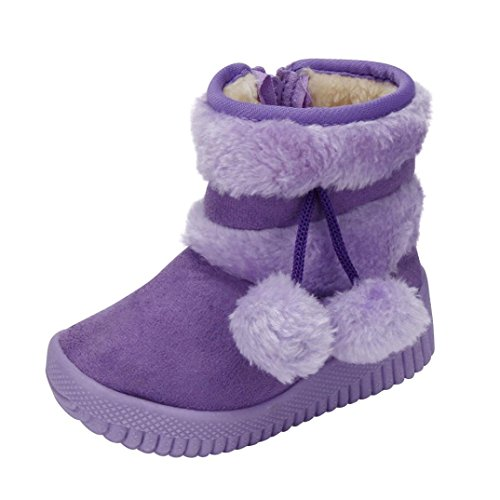 Jamicy® Mädchen Schneestiefel Ball Baumwolle Mode Winter