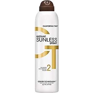 California Tan Spray autobronzant instantané 177ml