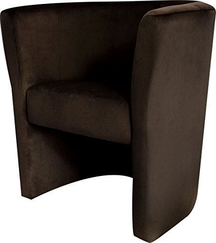 Vitra Suita Club Armchair Sessel Stoff Braun 4-Fußgestell