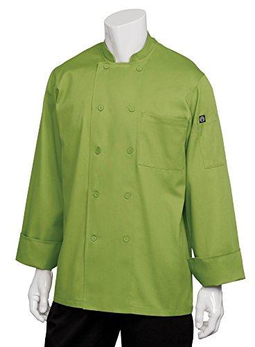Chef Works Basic Chef Coat, lime grün, Grün, 2833-LIM-3XL (Chef Mäntel Von Chef Works)