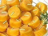 TEELICHTE aus 100% IMKER BIENENWACHS - 20 Kerzen aus der Schwarzwälder Kerzenmanufaktur.
