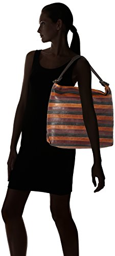 Think - Think! Bag, Borse a spalla Donna Marrone (Espresso/kombi 42)