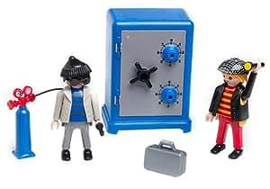 playmobil 3161 cambrioleurs et coffre fort jeux et jouets. Black Bedroom Furniture Sets. Home Design Ideas
