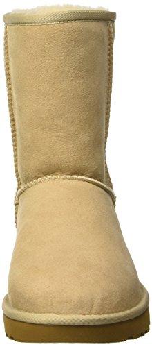 Short Ugg Australia Classic, Zapatos De Cuello Alto Para Mujeres Beige (arena)