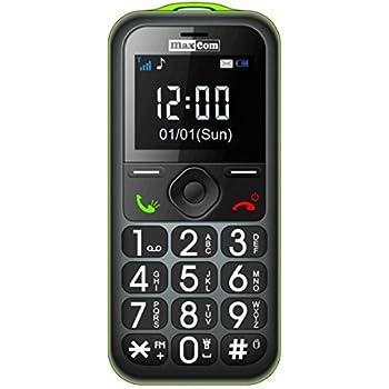 Maxcom MM560BBZI - Teléfono móvil, tarjeta memoria SD hasta ...