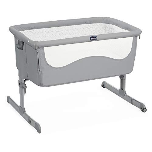 Chicco Next 2 me - Cuna de colecho con anclaje a cama y 6 alturas, color gris (Pearl)