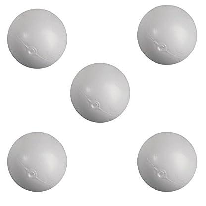Rayher-3911900-Plastik-Kugel-ohne-Hals-7-cm