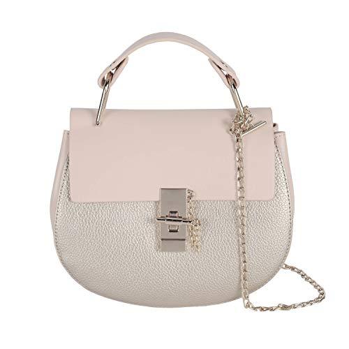 Damen Umhängetasche Kleine Schultertasche Kette Tasche Clutch Mini Handtasche Vintage Citytasche für Hochzeit Party Disko (New-Gold) (Gold Vintage Handtasche)