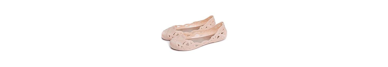 Zapatos de Jalea de Mujer Mocasines y Slip-Ons Talón Plano para Casual Negro Zapatos de Almendra Azul Oscuro PU... -